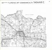 Florence, Commonwealth T40N-R18E, Florence County 1964
